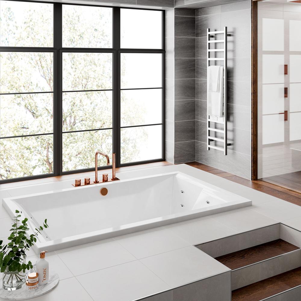 duett doppel badewanne mit f en 180x120x46cm mit designabdeckung wei. Black Bedroom Furniture Sets. Home Design Ideas