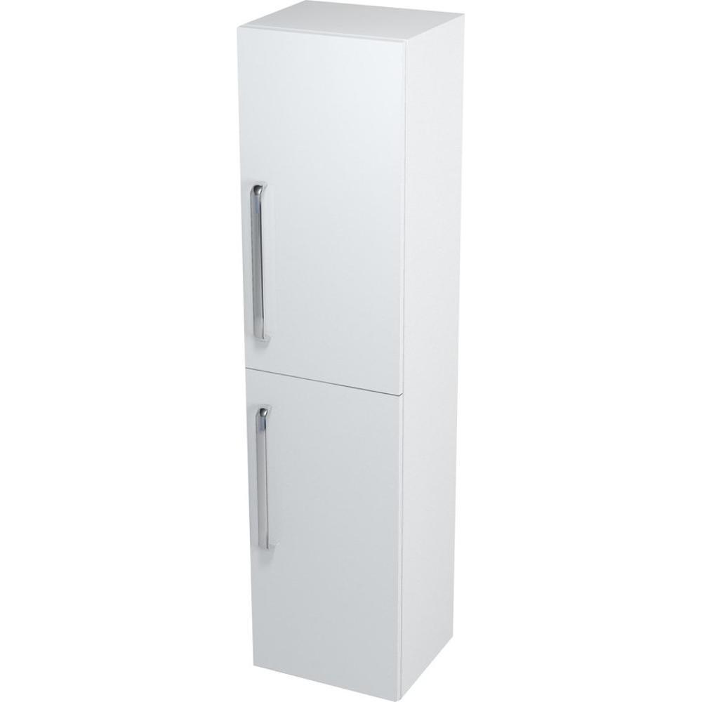 AMELIE Hochschrank mit Wäschekorb 35x140x30cm, weiß, recht