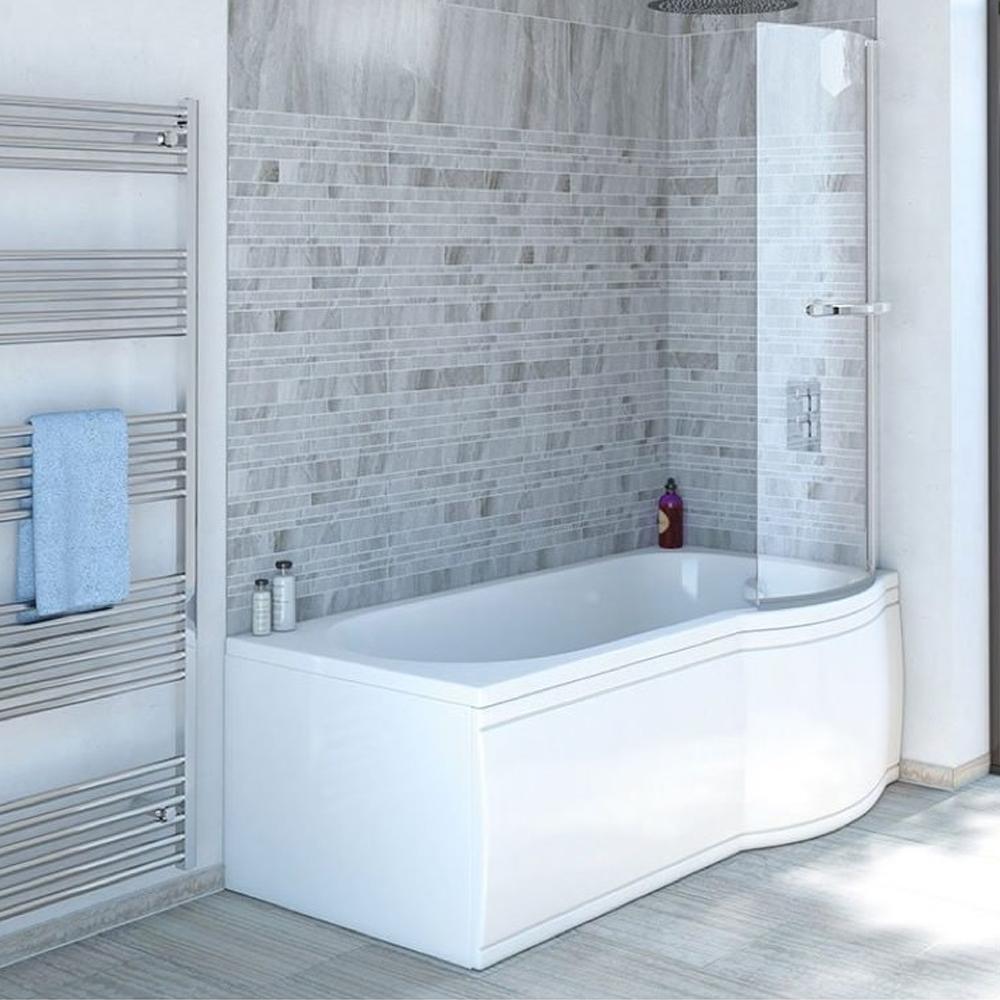 skali badewanne mit duschzone 167 5x85 75x40 cm rechts. Black Bedroom Furniture Sets. Home Design Ideas