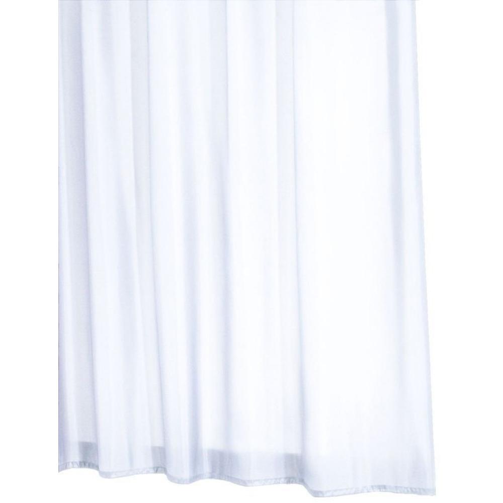 MADISON Duschvorhang 180x200cm, textil, weiß