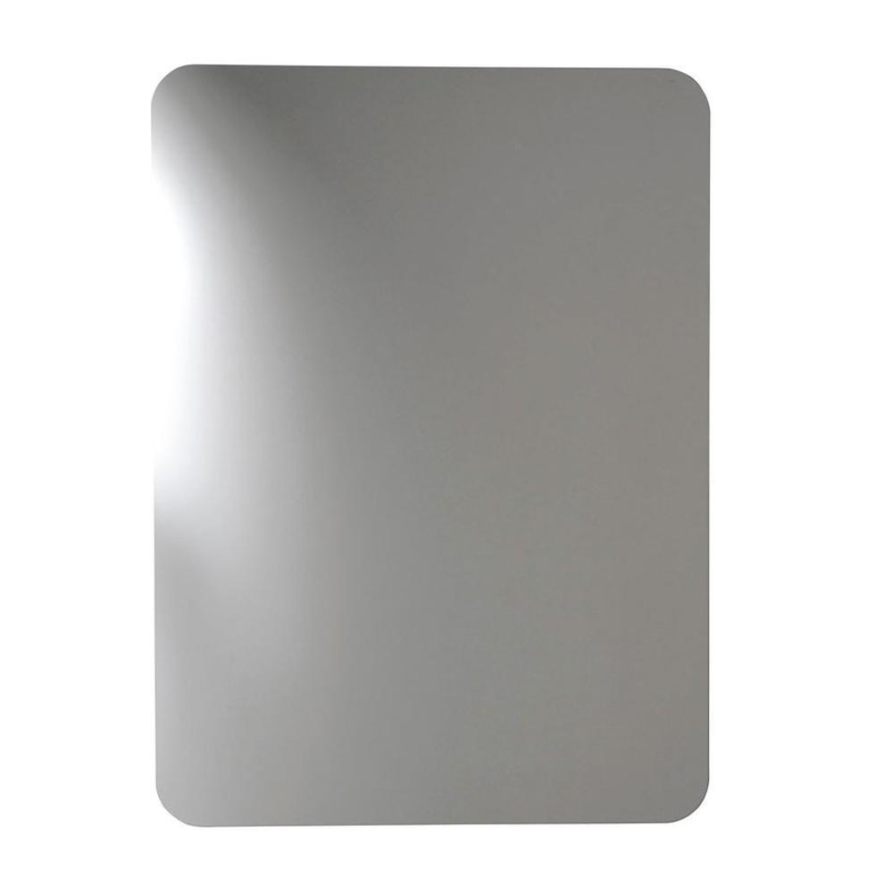 ishape spiegel 50x90cm rechteck abgerundete ecken ohne halterung. Black Bedroom Furniture Sets. Home Design Ideas