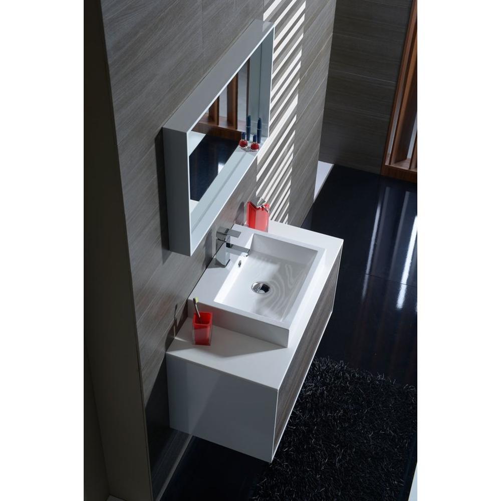 kroma unterschrank zur rockstone platte 89x45x45cm wei mali wenge. Black Bedroom Furniture Sets. Home Design Ideas