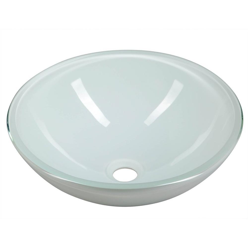 GWYN Glas-Waschbecken Durchmesser 42 cm