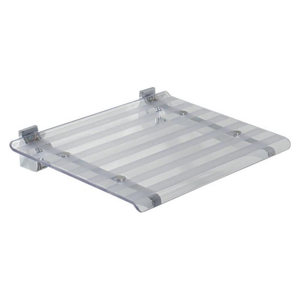 LEO Duschsitz 40x31cm, transparent