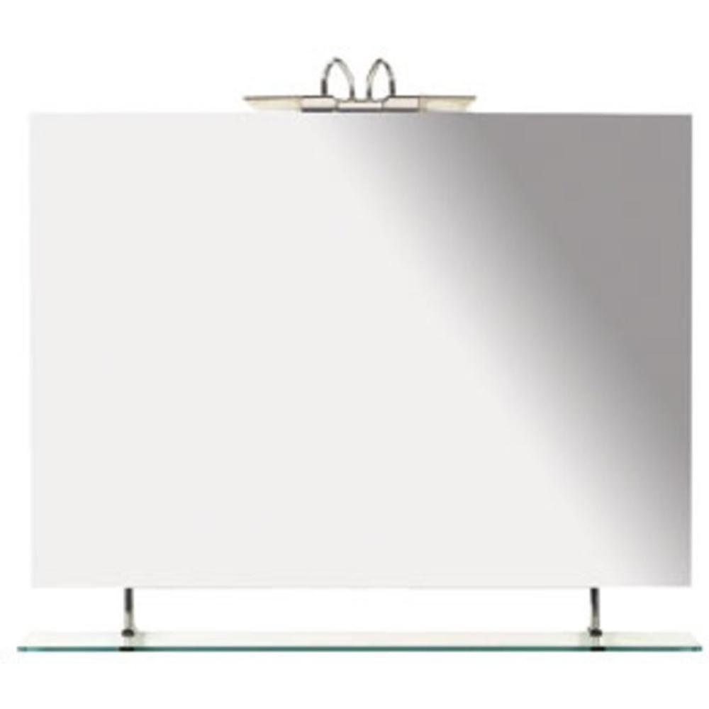 Wega spiegel 90x80cm mit ablage for Spiegel 90x80