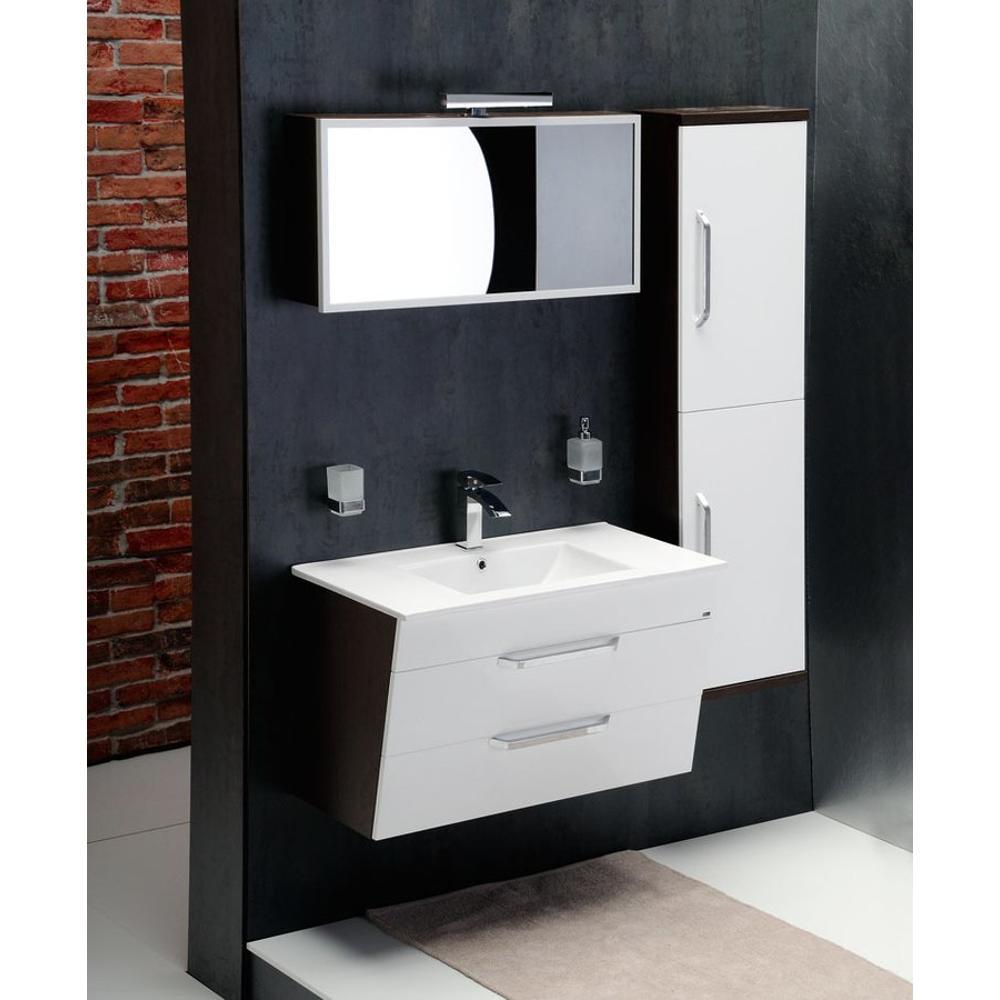 kali schrank hoch mit w schekorb 35x140x30cm rechts wei. Black Bedroom Furniture Sets. Home Design Ideas