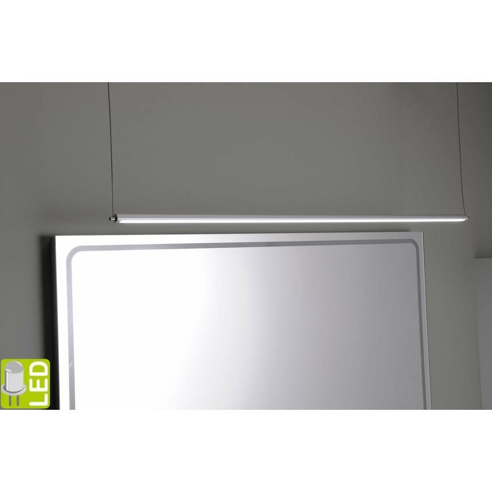 FROMT TOUCH LED Häng-Lampe 77cm 12W, Sensor, Aluminium
