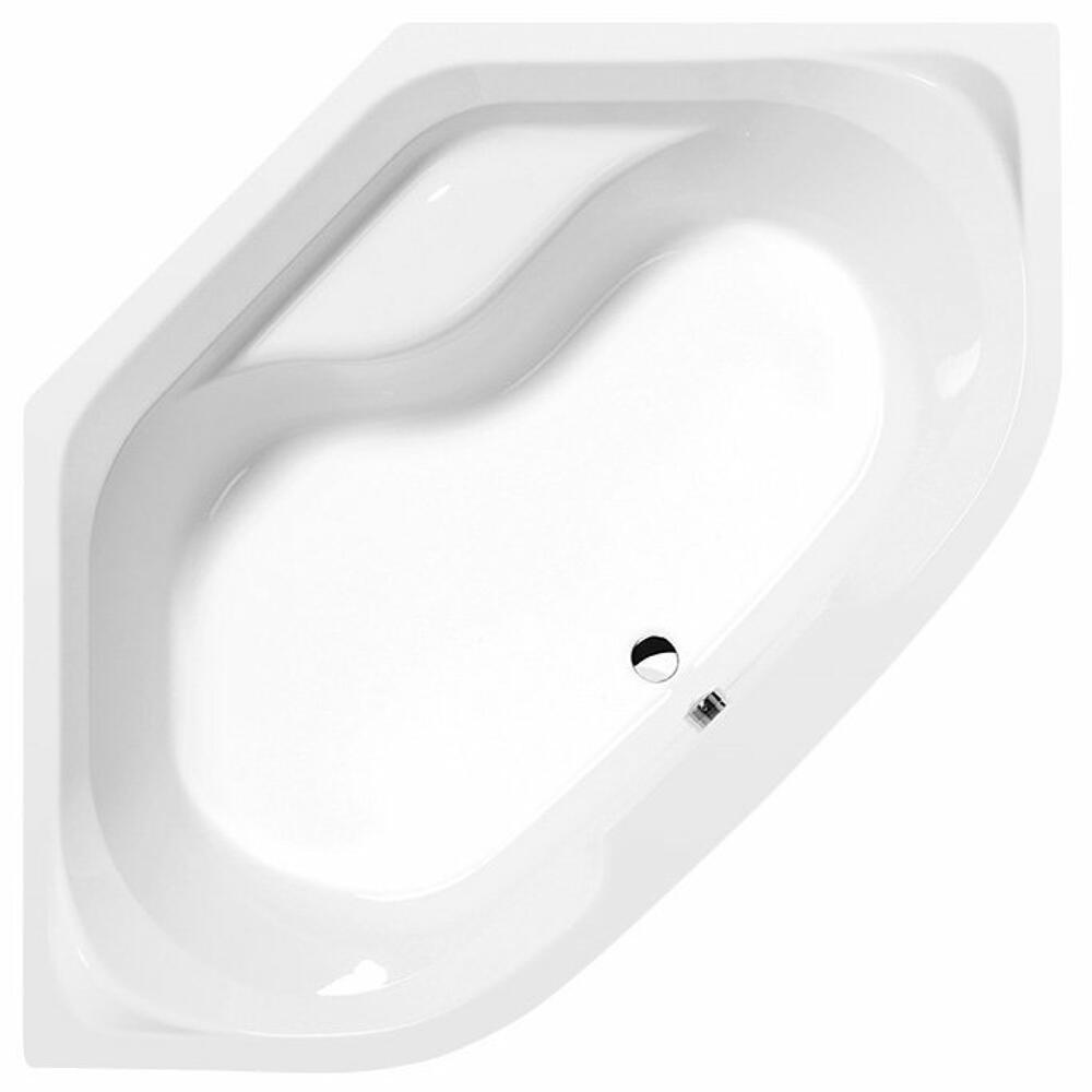 TANGO Eckwanne 145x145x47cm, weiß