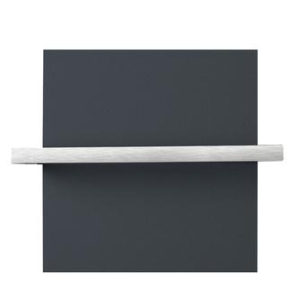 ELION Handtuchhalter für Badheizkörper 606 mm, doppelseitig, gebürsteter Edelstahl