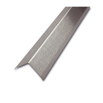 ES Eckschutzprofil, 3-fach gekantet,spiegelblank, 200cm lang, Maß 60x60mm