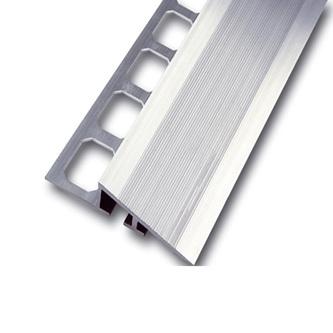 Rampenprofil Aluminium natur 250 cm lang, 20mm hoch