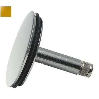 Ablaufgarnitur Ersatzstopfen, Messing, 42mm, golden
