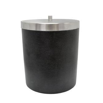 STONE Mülleimer, schwarz