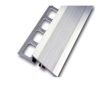 Rampenprofil Aluminium natur 250 cm lang, 15mm hoch