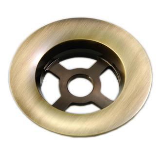 Ablaufgarnitur Ersatzgitter, Messing, bronze