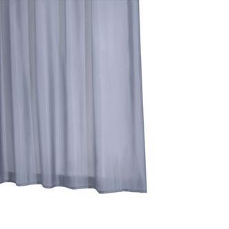 MADISON Duschvorhang 180x200cm, textil, Anthrazit