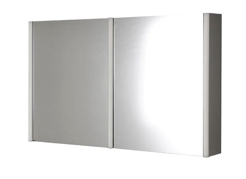 ALIIX Spiegelschrank mit LED Beleuchtung 120x74,5x17cm