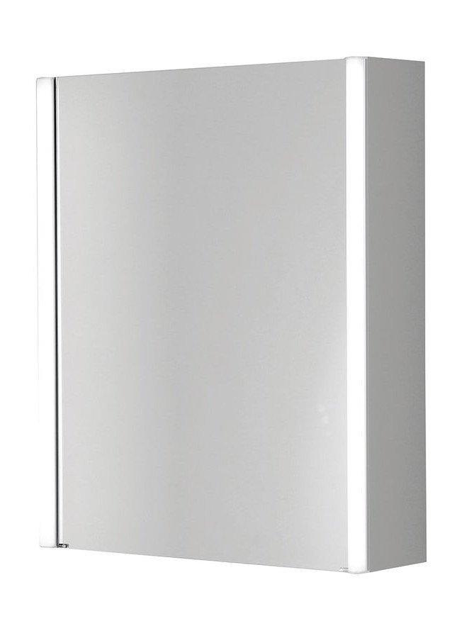 ALIX Spiegelschrank mit LED Beleuchtung 61,4x74,5x17cm