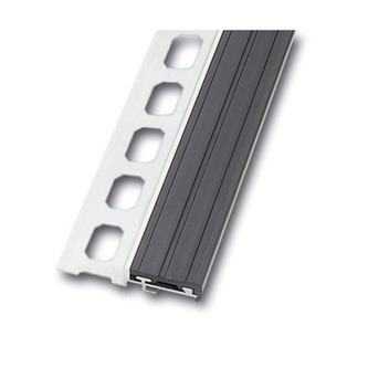Treppenstufenprofil  Alu, 100cm, Höhe 11mm,grau