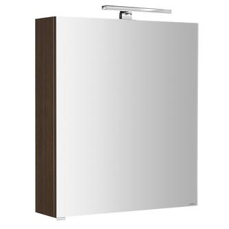 RIWA Spiegelsch.mit LED Bel.,50x70x17cm, berührungslos.Lichtsch.,Kiefer Rustikal