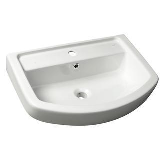 BASIC Keramik-Waschtisch 60x45cm, weiß