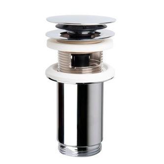 Verschließbare Ablaufgarnitur, klick-klack, H. max 80mm, Chrom