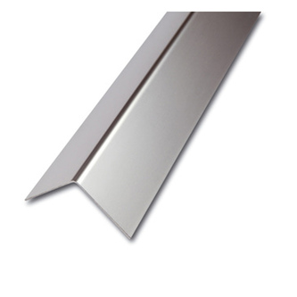 ES Eckschutzprofil, 1-fach gekantet,glatt,1,0mm stark,250cm,Winkelmaß 60x60mm