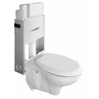 WC Set Hang – WC Taurus mit Spülkasten und Geberit-Knopf zum Mauern