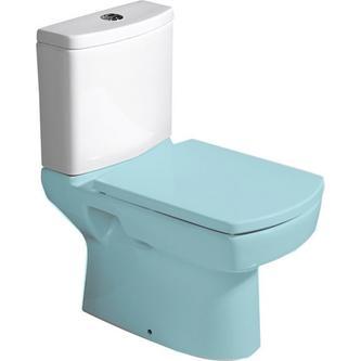 BASIC Spülkasten zum Kombi-WC, Zulauf von unten