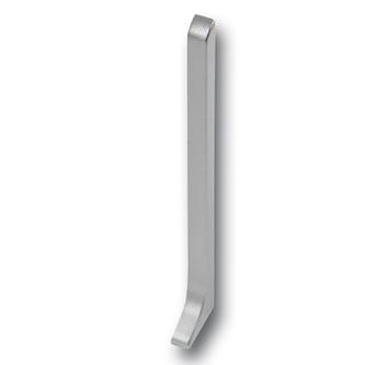 Endkappe rechts für Sockelleisten Alu, eloxiert, 80mm