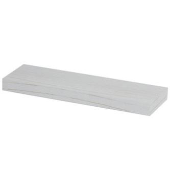 BRAND Ablage mit Halterung 90x3x12cm, altweiß