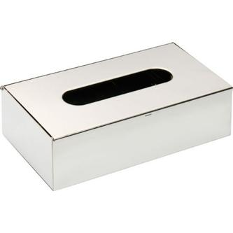 Kleenex Box 250x130x75mm, Chrom
