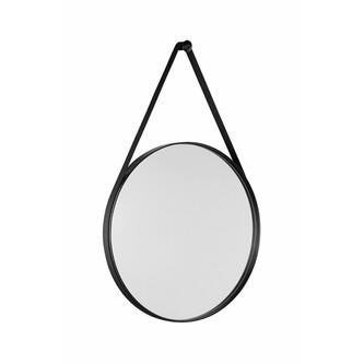 ORBITER runder Spiegel ,ø 50cm, mattschwarz
