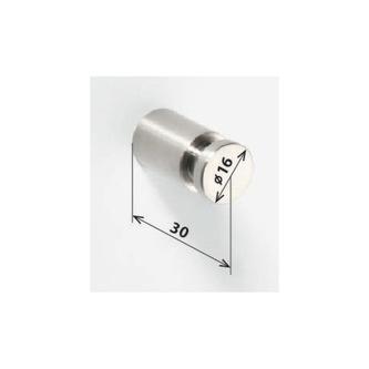 X-STEEL Haken 30mm, gebürsteter Edelstahl