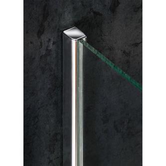 VITRA LINE Duschabtrennung, Viertelkreis 1200x900mm,R550,links, Klarglas