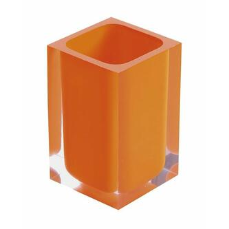 RAINBOW Glas zum Stellen, orange