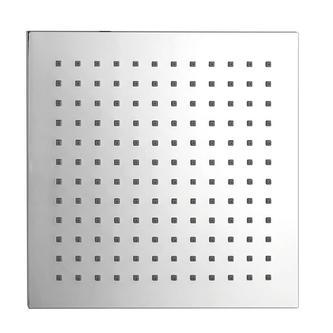 Kopfbrause Quadrat 204 x 204 mm, ABS / chrom