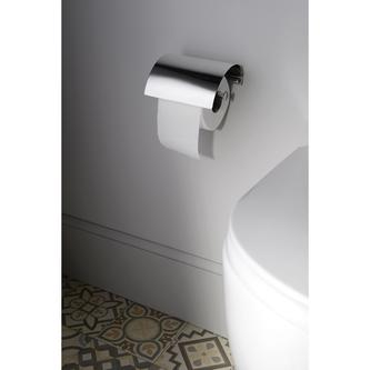 LONDON Toilettenpapierhalter mit Deckel, Chrom
