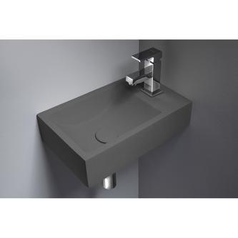 CREST R Waschbecken  40x22 cm, Beton