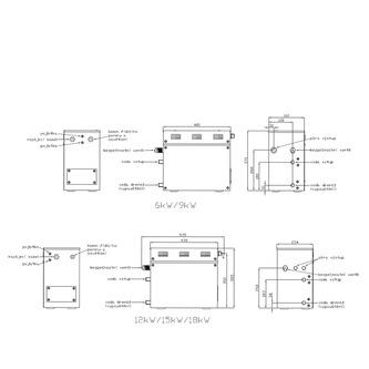 Dampfgenerator 18kW inkl. Fernbedienung