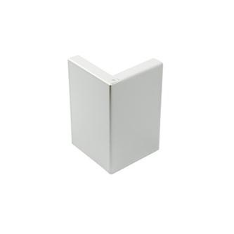 Eckstück, Aluminium,  grau, 75 mm hoch