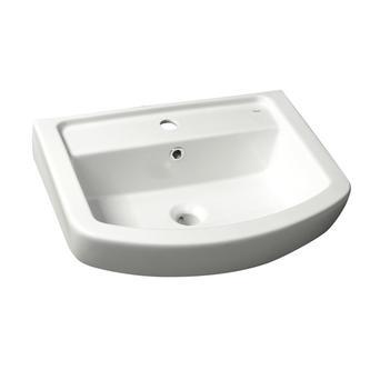 BASIC Keramik-Waschtisch 55x45cm, weiß
