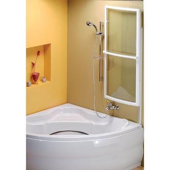 LANKA1 Wannenabtrennung für Badewannen SIMONA 140 u. 150, ALEXANDRA