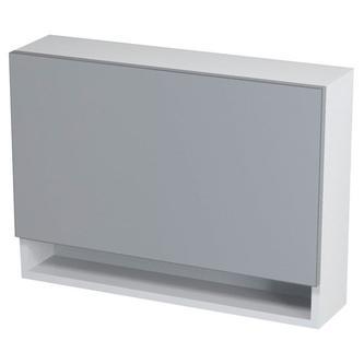 KLÁRA Spiegelschrank mit Ablage 70x51x18cm, weiß