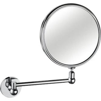 Wand-Kosmetikspiegel, ohne Beleuchtung, Durchmesser 200mm, Chrom