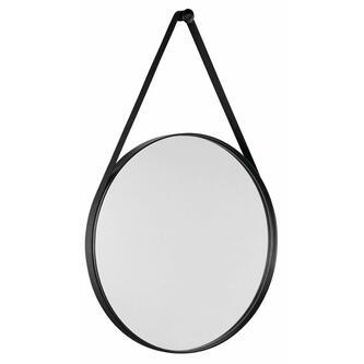 ORBITER runder Spiegel , ø 70cm, mattschwarz