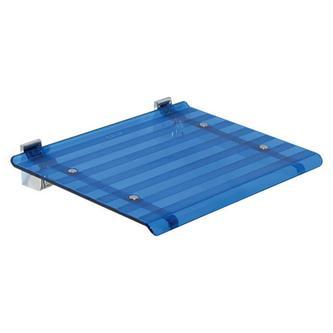LEO Duschsitz 40x31cm, blau