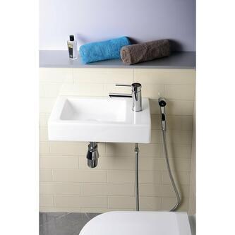 MELINDA Keramik-Handwaschbecken 46x11x26,5cm, weiß