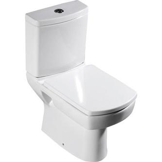 Kombi WC Basic,Abgang senkrecht/waagerecht