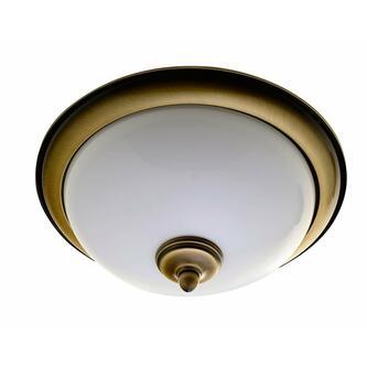 GLOSTER Deckenleuchte 2xE14, 40W, bronze
